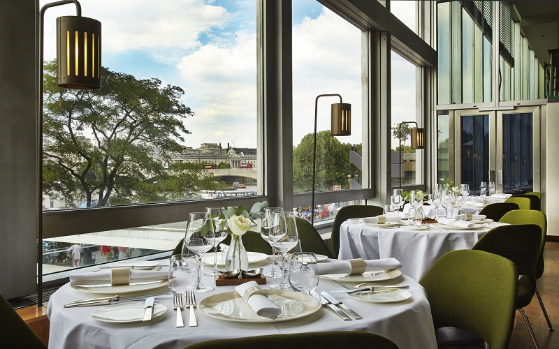 25% Off Dinner for Two at Skylon and Free Glass Champagne
