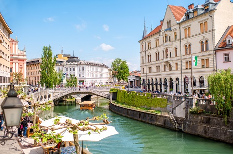 Sightseeing and Shopping in Slovenia's First Capital