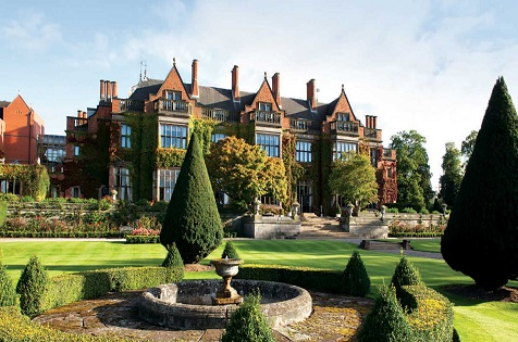The Spa List Is Endless At Hoarcross Hall